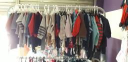 Vendo loja de roupa infantil (estoque  e móveis)