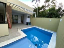 Casas 153m 3 dormitórios sendo 2/suítes com piscina promoção |Morada dos pássaros
