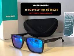 Óculos de Sol Mormaii Original Kona Preto Azul só 3x de R$ 77 + frete Grátis para Maringá