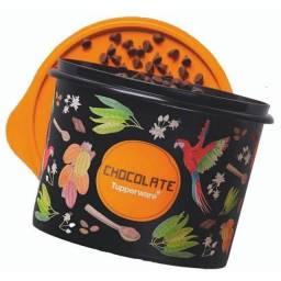 Título do anúncio: Promoção Tupper caixa mantimento Tupperware chocolate 1,3 kg
