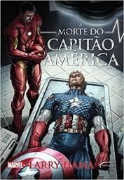 """Livro """"A Morte do Capitão América"""" - Volume 01"""