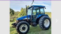 Trator Tl75E com reversor