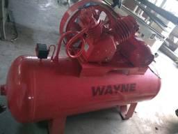Compressor de ar industrial Alta pressãoWayne 250l 20 pés