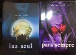 livros - os imortais ( para sempre, lua azul)