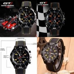 Novo casual esportivo lançamento confortável Relógio  unissex militar GT grand touring