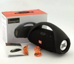 Caixa de Som Bombox Mini Bluetooth Bombox 22 cm