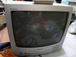 "Tv Panasonic 20"" tubo com controle"
