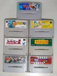 Fitas Originais de Super Nintendo