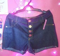Short jeans feminino apenas R$40!!!