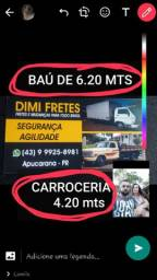 Mudancas e Fretes em geral para todo o Brasil....