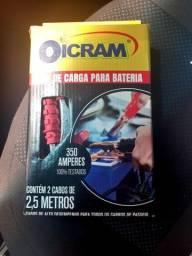 CABO CHUPETA 2.5 M 350 AMPERES PARA BATERIA DE CARRO