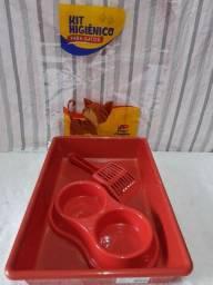 Kit higiênico para gato