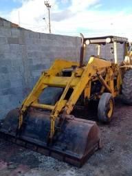 Retro Escavadeira Massey Ferguson