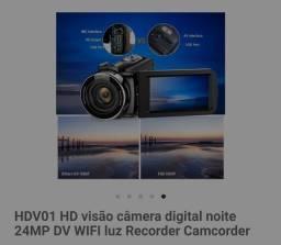 Camera digital HV01 nova sem uso.