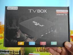 Tv Box MXQ Pro 5g 128 GB! Transforme sua TV em Smart .. Até 500 canais