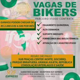 Contratamos Bikers para Delivery. App mais famoso do Brasil!!