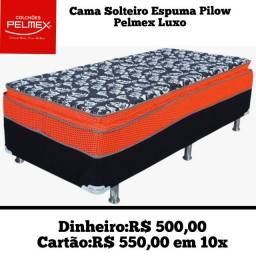 Box Solteiro D28 Pelmex Pilow Luxo