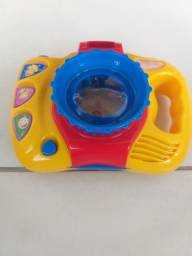 Máquina fotográfica de brinquedo Dican