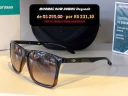 Óculos de Sol Mormaii Original Now Hawaii só 3x de R$ 77 + frete Grátis para Maringá
