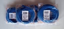 Cabo de Rede Hayom CAT5E CMX Soho Plus Azul 10 Metros - AI1010