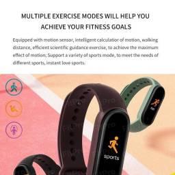 Smartwatch m5 relógio smart bluetooth 4.2 prova d 'gua / pulseira esportivo de verifica o
