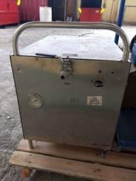 lavadora a vapor, caldeira