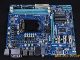 Kit Gigabyte Ga-h61m-d2-b3 - I3 2100