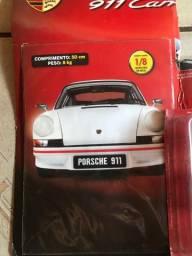 Fascículo 3 + peças da réplica em miniatura do carro porsche 911 carrera
