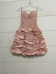 Vestido rosê lindíssimo