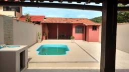Bela casa 3 qrts com piscina e terreno perto da rodoviária carta