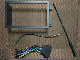 Cobalt (moldura 2 din, chicote, cabo antena, antena)