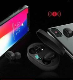 Fone sem fio E6s Bluetooth Android e IOS