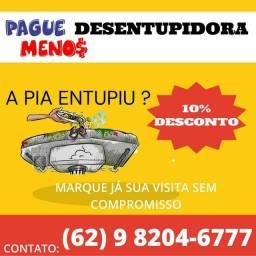 Título do anúncio: Desentupidora desentupimento de pia ralos CAIXA DE GORDURA