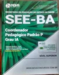 Livro coordenador pedagógico see-ba