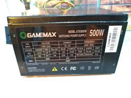 Fonte Atx GameMax 500w Real