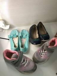 Tenis e sapatos infantil