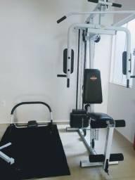 Estação de Musculação Kenkorp EMK 2610 - Branco+Preto