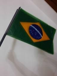 4 bandeiras do Brasil plásticas
