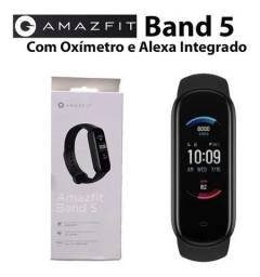 Relógio Amazfit Band 5 Com Alexa e Oxímetro!!!!