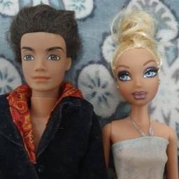 Casal de bonecas barbie  my scene