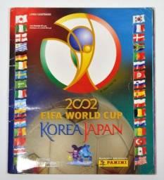 Álbum Copa Do Mundo Korea Japan 2002 Completo