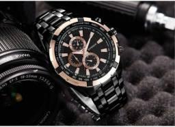 5ecc4735e95 Relógio curren de quartzo