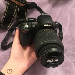 Nikon D3100 + lente 18-55mm