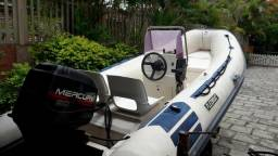 Flexboat sr15 luxo com motor mercury 50 hp - 1998