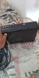 Xboox 360 e Iphone 6 na caixa