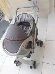 Carrinho e bebê conforto pouco usado carrinho 200 reais bebê conforto 50