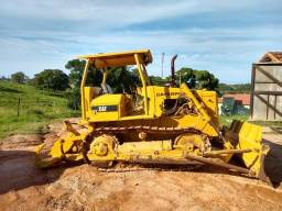 Trator de esteiras d4 d4e riper cat caterpillar 7d new holland ad7b ano 1997
