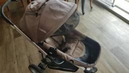 Carrinho Kiddo compass e cadeira conforto