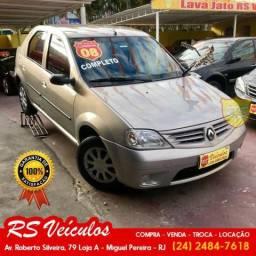 Renault Logan Expression 1.0 Completo Nada a Fazer - 2008