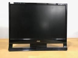 Monitor 19 Polegadas AOC / Entrada VGA / Com Cabos / Anápolis